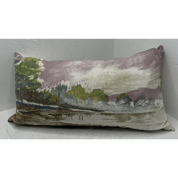 NWT Rizzy Home Decorative Watercolor Throw Pillow